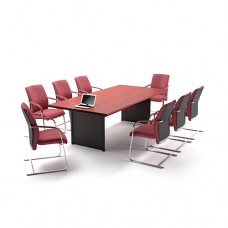 MEETING TABLE HIGHPOINT ONE CT 2C MAHOGANY (240CM)