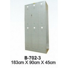 Lemari Locker Besi Brother B-702-3